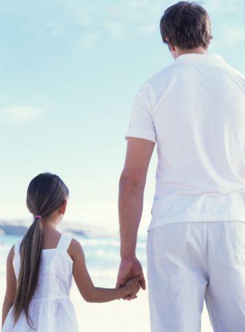 A Wonderful Dad. When I married that wonderful husband of mine,